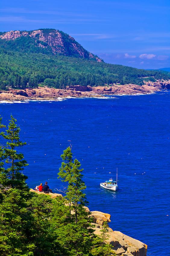 Frenchman bay acadia national park mount desert island for Acadia national park fishing