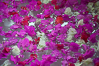 Spa Bath with flowers