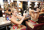 'The Christmas Spectacular' - Dressing Room Beauty
