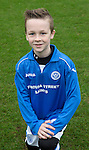 St Johnstone Academy U11's<br /> Logan Pietrowitz<br /> Picture by Graeme Hart.<br /> Copyright Perthshire Picture Agency<br /> Tel: 01738 623350  Mobile: 07990 594431