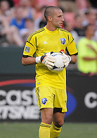 Montreal Impact goalkeeper Evan Bush (30)  D.C. United defeated Montreal Impact 3-0 at RFK Stadium, Saturday June 30, 2012.