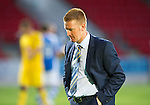 St Johnstone v Eskisehirspor...26.07.12  Europa League Qualifyer.Steve Lomas at full time.Picture by Graeme Hart..Copyright Perthshire Picture Agency.Tel: 01738 623350  Mobile: 07990 594431