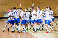 20160202: SLO, Floorball - World Championship 2016 Qualifications, Norway vs Slovenia