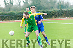 Kerry's Jason Hickson in the Umbro Oscar Traynor Cup Kerry v Desmond League at Mounthawk Park on Sunday