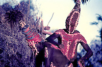 Very rare and old Aboriginale Ceremony, taken in 1978, Historic Photo