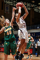 SAN ANTONIO, TX - DECEMBER 28, 2013: The North Dakota State University Bison versus the University of Texas at San Antonio Roadrunners Women's Basketball at the UTSA Convocation Center. (Photo by Jeff Huehn)