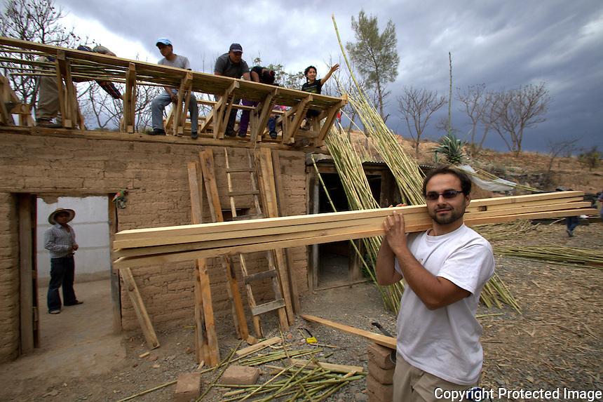 Building A House In Oaxaca