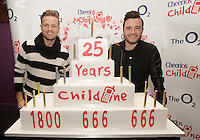 20/11/13<br /> Nicky Byrne  and Shane Filan who will be performing the Cheerios Childline Concert at the O2 Dublin this evening&hellip;.<br /> Pic Collins Photos
