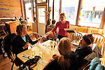 Clockwise from the left, Sheri Johnson-Hursley, Kristi Mikesell, Miki Hodge and Sheri Damman at the Laughing Ladies Cafe. Michael Brands for The New York Times.
