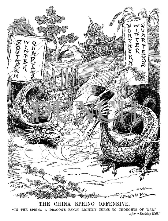 InterWar cartoons from Punch magazine by Leonard Raven ...