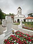Tomb of His Holyness in Repose, Pavle, Rakovica monastery, Serbia.