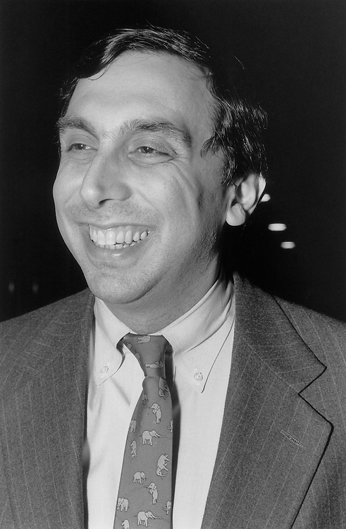 Jim Nuzzo was once a challenger to Representative Barney Frank's Massachusetts congressional seat. July 1990 (Photo by Laura Patterson/CQ Roll Call)