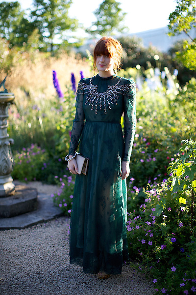 Florence Welch at Elton John's White Tie and Tiara Ball