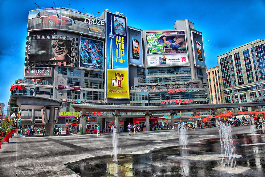 Toronto Dundas Square Photo Art | Ian C Whitworth Photography: icwphotography.photoshelter.com/image/I0000tarb9Cfz_nE