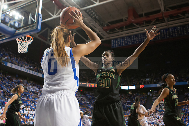 of the Kentucky Wildcats during the second half of the game against the Baylor Bears at Rupp Arena on Monday, November 17, 2014 in Lexington, Ky. Kentucky defeated Baylor 74-64.Photo by Michael Reaves | Staff