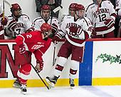 Brendan Smith (Cornell - 2), Ryan Donato (Harvard - 16) - The Harvard University Crimson defeated the visiting Cornell University Big Red on Saturday, November 5, 2016, at the Bright-Landry Hockey Center in Boston, Massachusetts.