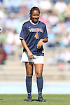 20 October 2013: Virginia's Morgan Stith. The University of North Carolina Tar Heels hosted the University of Virginia Cavaliers at Fetzer Field in Chapel Hill, NC in a 2013 NCAA Division I Women's Soccer match. Virginia won the game 2-0.