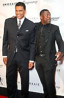 PHILADELPHIA, PA - SEPTEMBER 11 :  Reggie Theus and Chris Tucker pictured at the Julius Erving Black Tie Ball red carpet at Sofitel Hotel in Philadelphia, Pa on September 11, 2016  photo credit  Star Shooter/MediaPunch