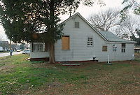 1992 January ..Conservation.Cottage Line..EXISTING CONDITIONS.9415 CHESAPEAKE STREET...NEG#.NRHA#..