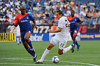 Davy Arnaud (22) of the United States (USA) moments before scoring. The United States and Haiti played to a 2-2 tie during a CONCACAF Gold Cup Group B group stage match at Gillette Stadium in Foxborough, MA, on July 11, 2009. .