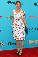 UNIVERSAL CITY, CA, USA - SEPTEMBER 21: Amy Brenneman arrives at the Los Angeles Premiere Of Focus Features' 'The Boxtrolls' held at Universal CityWalk on September 21, 2014 in Universal City, California, United States. (Photo by Celebrity Monitor)
