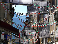 Barcelonnette, comune dell'Alta Provenza centro di forte emigrazione verso il Messico.<br /> Barcelonnette, town in Haute Provence, center of emigration to Mexico.