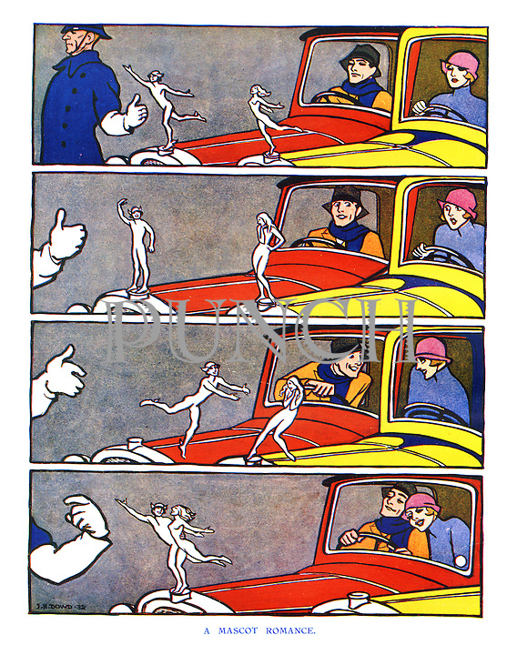 A Mascot Romance.