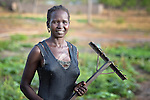 Martha Amokou Marier works at the Multi Agricultural Jesuit Institute of Sudan (MAJIS), an agricultural school located outside Rumbek, South Sudan.