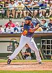 22 March 2015: Houston Astros first baseman Jon Singleton in Spring Training action against the Pittsburgh Pirates at Osceola County Stadium in Kissimmee, Florida. The Astros defeated the Pirates 14-2 in Grapefruit League play. Mandatory Credit: Ed Wolfstein Photo *** RAW (NEF) Image File Available ***