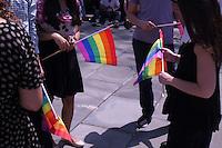 JUN 26 New York City Mayor Bill de Blasio Celebrates Same Sex Marriage Ruling