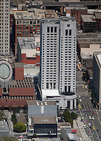 aerial photograph W Hotel SOMA San Francisco, California