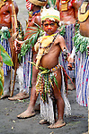 Ceremonial dancer, Singsing ceremony, Mount Hagen, Papua New Guinea