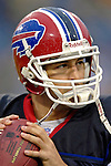17 December 2006: Buffalo Bills quarterback J.P. Losman prepares for a game against the Miami Dolphins at Ralph Wilson Stadium in Orchard Park, New York. The Bills defeated the Dolphins 21-0.. .Mandatory Photo Credit: Ed Wolfstein Photo<br />