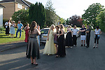 Sixteen year old teenage girls at a leaving school end of year Pre Prom party. Surrey, England 2008.