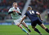 Fraser Gillies of Cambridge University in possession. The Varsity Match between Oxford University and Cambridge University on December 10, 2015 at Twickenham Stadium in London, England. Photo by: Patrick Khachfe / Onside Images