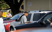 Honolulu, HI - December 22, 2008 -- United States President-elect Barack Obama walks back to his motorcade at Marine Corps Base Hawaii Kaneohe Bay to return to his rental house in Kailua, Hawaii on Monday, December 22, 2008..Credit: Joaquin Siopack - Pool via CNP