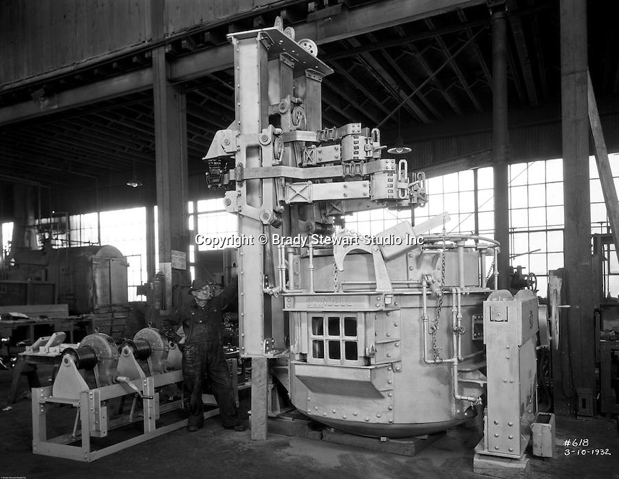 Swindell-Dressler Electric Steel Furnace at Allegheny ...