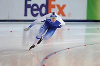 SPEED SKATING: STAVANGER: Sørmarka Arena, 31-01-2016, ISU World Cup, 1000m Men Division A, Mika Poutala (FIN), ©photo Martin de Jong
