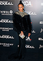 NEW YORK CITY, NY, USA - OCTOBER 30: Selita Ebanks arrives at the 11th Annual Keep A Child Alive Black Ball held at the Hammerstein Ballroom on October 30, 2014 in New York City, New York, United States. (Photo by Celebrity Monitor)
