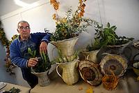 Paliano.Gino Iannotti, il cestaio.