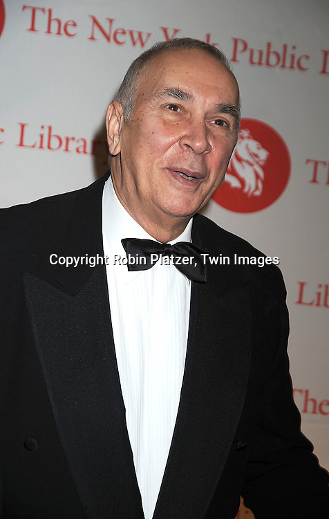 Frank Langella..arriving at The New York Public Library 2008 Library Lions Benefit Gala on November 3, 2008 at The New York Public Library at 42nd Street and 5th Avenue.....Robin Platzer, Twin Images