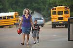 The first day of school at Bramlett Elementary in Oxford, Miss. on Thursday, August 4, 2011.
