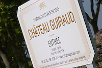 Chateau Guiraud, Sauternes, Bordeaux, France