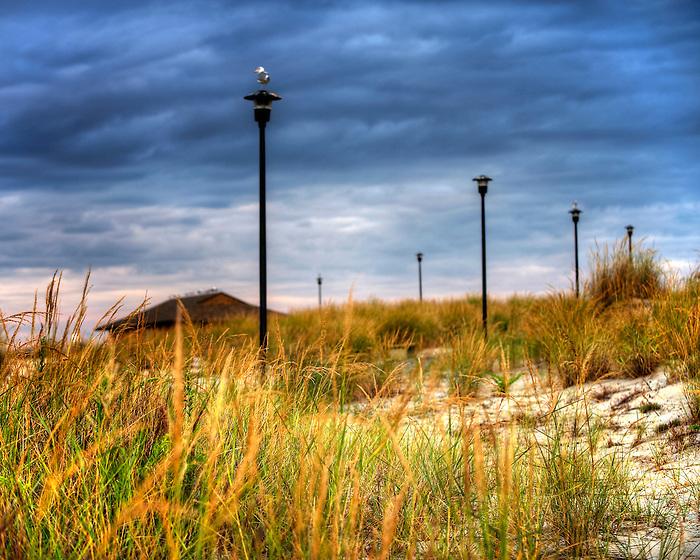 Captree Sunrise Beach Scene in September 2012
