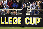 03 December 2010: Boston College head coach Alison Foley. The Stanford University Cardinal defeated the Boston College Eagles 2-0 at WakeMed Stadium in Cary, North Carolina in an NCAA Women's College Cup semifinal game.
