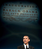 Washington, DC - January 19, 2009 -- United States President-elect Barack Obama speaks at at a bi-partisan dinner honoring United States Senator John McCain (Republican of Arizona), the Republican presidential nominee in Washington, D.C., U.S., Monday, January 19, 2009.    .Credit: Joshua Roberts - Pool via CNP