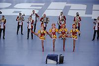 OLYMPICS: SOCHI: Adler Arena, 11-02-2014, 500m Ladies, muzikaal intermezzo, ©foto Martin de Jong