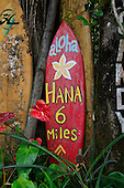 Nahiku roadside market, Hana Coast, Maui, Hawaii