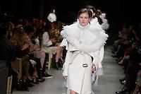 FEB  22 BURBERRY show at Milan Fashion Week