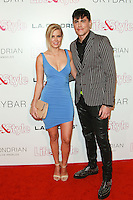 WEST HOLLYWOOD, CA, USA - OCTOBER 23: Ariana Madix, Tom Sandoval arrive at the Life & Style Weekly 10 Year Anniversary Party held at SkyBar at the Mondrian Los Angeles on October 23, 2014 in West Hollywood, California, United States. (Photo by David Acosta/Celebrity Monitor)